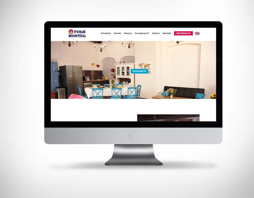 Strona internetowa dla hotelu