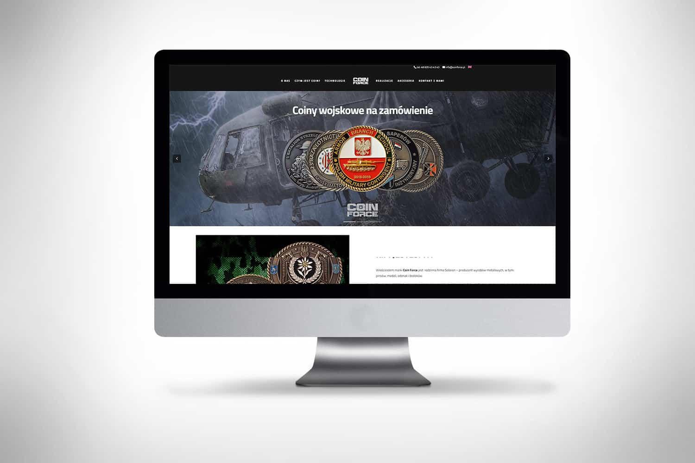 Strona internetowa dla dystrybutora