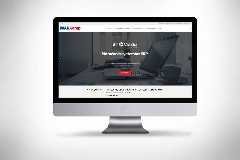 Strona internetowa dla firmy komputerowej Kalisz