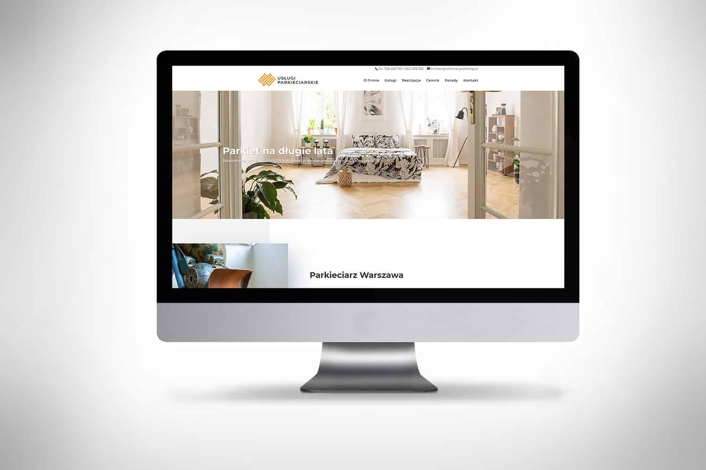 Strona internetowa dla uslug renowacji podlogi