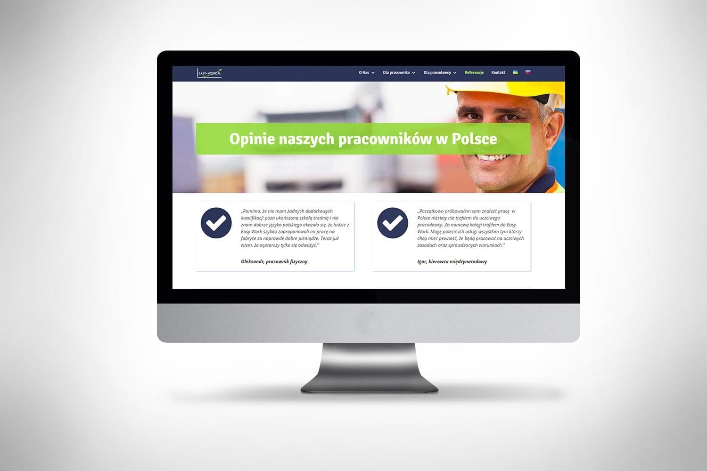 Strona www dla agencji pracy