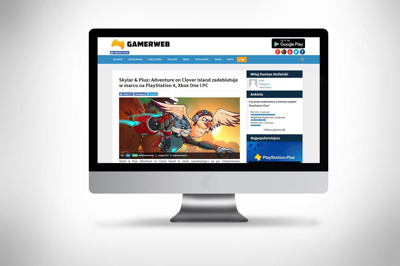 Portal o grach tworzenie strony