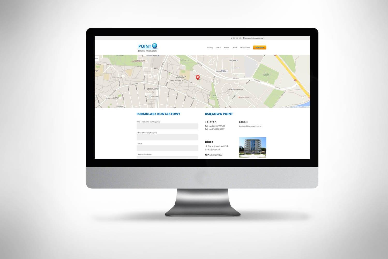 Strona www dla księgowej