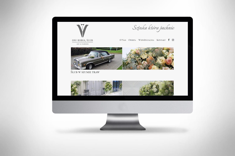 Strona internetowa dla kwiaciarni