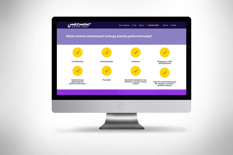 Strona internetowa dla małej firmy