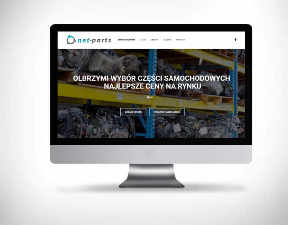 Części samochodowe witryna online