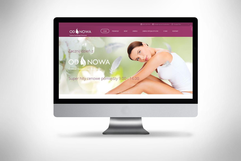 Depilacja projekt strony internetowej
