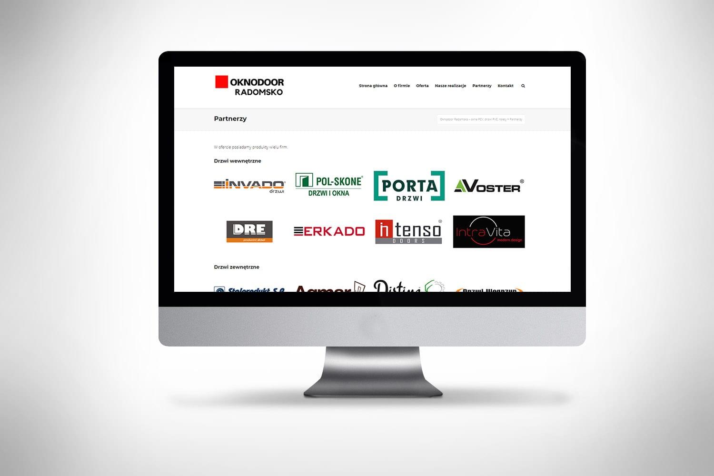 Strona www dla firmy robiącej okna