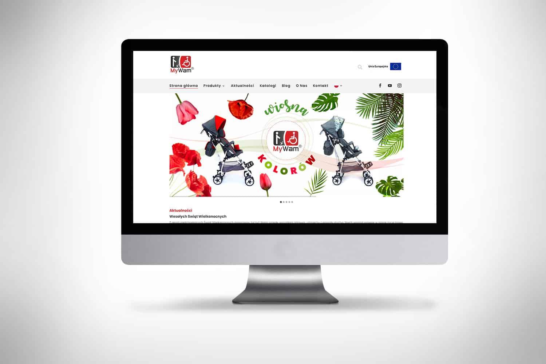 strona internetowa dla firmy mywam