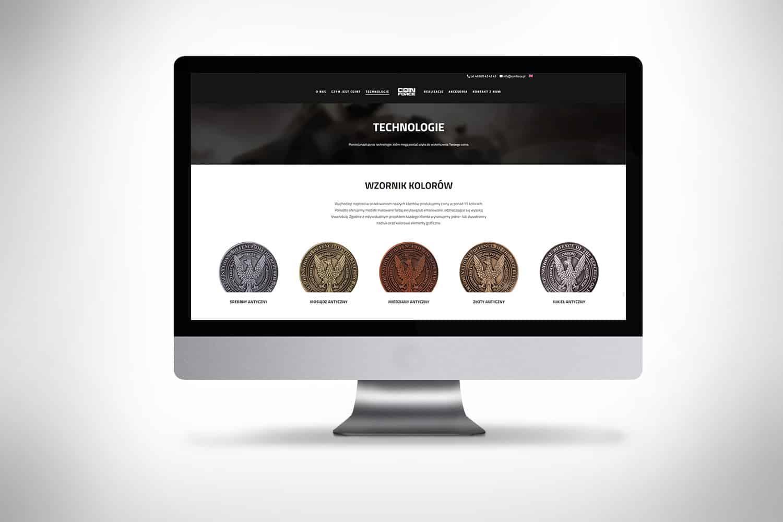strona internetowa dla firmy www