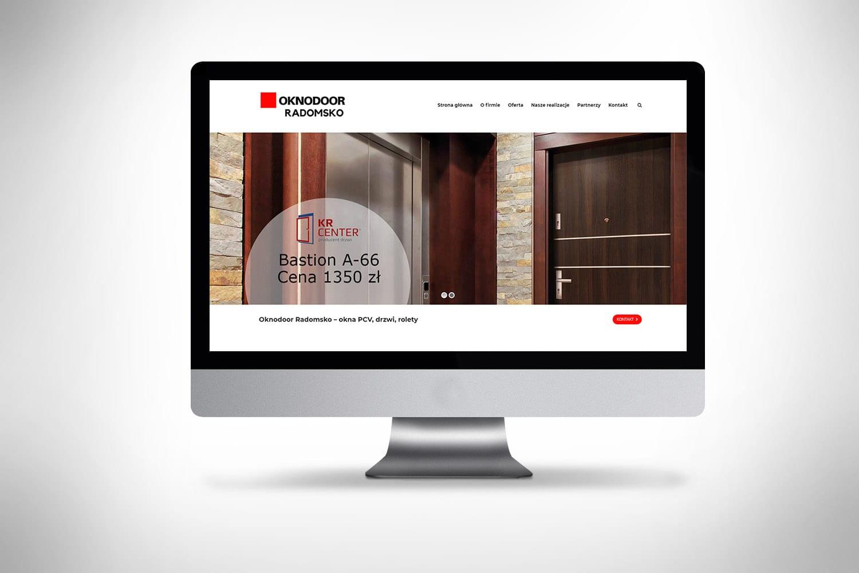 strony internetowe Poznań dla firmy robiącej okna