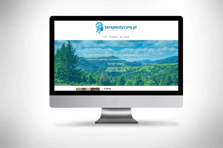 Strona internetowa dla terapeuty