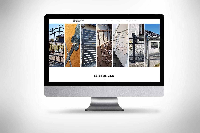 Witryny internetowe dla firm po niemiecku